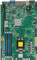 Supermicro X11SSW-F Motherboard, Proprietary Form Factor, Single socket H4 (LGA 1151) supports Intel Xeon processor E3-1200 v6/v5, Intel 7th/6th Gen. Core i3 series, Intel Celeron and Intel Pentium, Intel C236 chipset