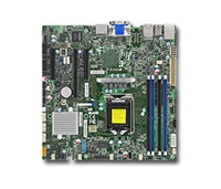 Supermicro MBD-X11SSZ-F Motherboard LGA 1151 UP Xeon Socket H4 Supports Dual 10GbE and Dual GbE LAN Port 4x SATA3 via C236 Full Warranty