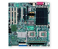 Supermicro MBD-X7DAE Dual LGA771 Socket Dual GbE LAN Port ATI Graphics 8 ports Dual channel SAS 6 SATA controller SIMLP IPMI 2.0 zero-channel RAID support Full Warranty