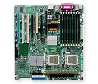 Supermicro MBD-X7DAE+ Dual LGA771 Socket Dual GbE LAN Port ATI Graphics 8 ports Dual channel SAS 6 SATA controller SIMLP IPMI 2.0 zero-channel RAID support Full Warranty