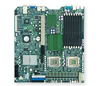 Supermicro MBD-X7DBR-3 Dual LGA771 Socket GbE LAN Port ATI Graphics SATA SIMSO  20Gbps Full Warranty