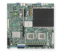 Supermicro MBD-X7DBR-I+ Dual LGA771 Socket Dual GbE LAN Port ATI graphics 6 ports SATA controller dual channel ultra320 SCSI Zero channel RAID support SIMSO IPMI 2.0 Full Warranty