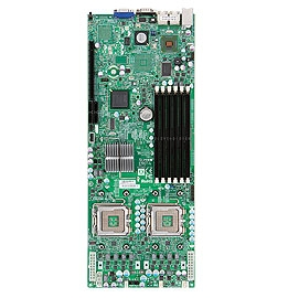 Supermicro MBD-X7DCT-L Dual LGA 771 4 SATA Ports Dual ethernet LAN Ports integrated graphics Full Warranty