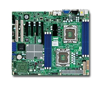 Supermicro MBD-X8DTL-i Dual Socket LGA 1366 6 SATA Ports Dual Port GbE LAN Integrated Matrox G200eW Graphics Full Warranty