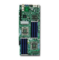 Supermicro MBD-X8DTT-HIBXF Dual Socket LGA 1366 Mellanox ConnectX-2 DDR infiniband 20Gbps Controller Dual Port GbE LAN Integrated Matrox G200eW Graphics IPMI 2.0 Full Warranty