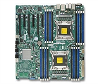 Supermicro MBD-X9DAE Intel Dual Socket R(LGA2011) 8 SATA Ports Dual-Port GbE Lan NVIDIA Geforce SLI Enable ,Full Warranty