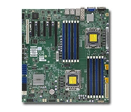Supermicro MBD-X9DB3-TPF Dual Socket B2 LGA1356 6 SATA Ports 8 SATA/SAS ports from C606 Single 10G SFP+ port + Dual Port i210 GbE LAN IPMI 2.0 Full Warranty