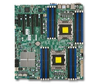 Supermicro MBD-X9DR3-F Intel Dual Socket R(LGA2011) 6 SATA Ports 8 SAS Ports from C606 Dual-Port GbE LAN Full Warranty