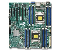 Supermicro MBD-X9DRE-LN4F Intel Dual Socket R(LGA2011) 10 SATA Ports Quad-Port GbE LAN Full Warranty
