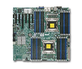 Supermicro MBD-X9DRE-TF+ Intel Dual Socket R(LGA2011) 6 SATA Ports Dual-Port 10GBase-T Full Warranty