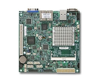 Supermicro MotherBoard X9SBAA-F SP Intel® Atom™ S1260 Dual-Core DDR3 SATA3 RAID GbE PCI Mini-ITX Full Warranty