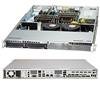 "Supermicro SC813LT-350CB 1U SuperChassis 2x 3.5"" Hot-swap SAS/SATA 350W High-efficiency Power Supply Super Chassis"