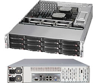 Supermicro SSG-6027R-E1CR12N SuperStorage Server 2U Rackmount