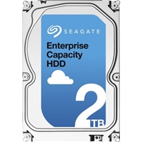 Seagate Enterprise Capacity 3.5'' HDD 2TB 7200 RPM 512e SATA 6Gb/s 128MB Cache Internal Hard Drive ST2000NM0125