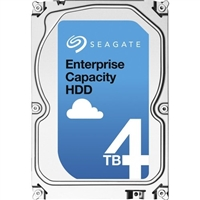 Seagate Enterprise Capacity 3.5'' HDD 4TB 7200 RPM 512n SATA 6Gb/s 128MB Cache Internal Hard Drive ST4000NM0035