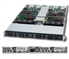 "Supermicro 1U  Server SYS-1026TT-TF Barebone Dual 1366-pin LGA Sockets Supports up to two Intel 64-bit Xeon processor(s) IPMI 2.0 Intel 82576 Dual-Port GbE 4x Hot-swap 2.5"" SATA Drive Bays 1200W Gold-level High-efficiency Power Supply Full Warranty"