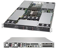 Supermicro SYS-1028GR-TR SuperServer (Black) Full Warranty