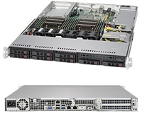 Supermicro SYS-1028R-TDW SuperServer (Black) Full Warranty