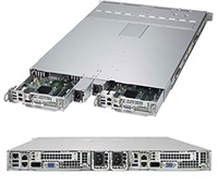 Supermicro SYS-1028TP-DTFR TwinPro SuperServer 1U Rackmount Pluggable Server