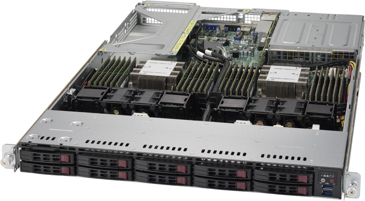 Supermicro 1U Rackmount Super Server 1029P-NR32R Dual Intel Xeon Scalable  Processors Intel C627 chipset