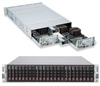 "Supermicro 2U Server Barebone SYS-2026TT-DLRF Intel Xeon processor 5600/5500 series  Integrated IPMI 2.0 with KVM and Dedicated LAN Dual Intel® 82574L GbE 12x 2.5"" Hot-swap HDDs 1400W Gold-level High-efficiency Redundant Power Supply Full Warranty"