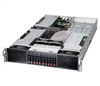 "Supermicro Superserver SYS-2027GR-TSF 2U Dual socket R LGA 2011 For Intel Xeon processor E5-2600 Up to 512GB ECC DDR3 1866MHz 8x DIMM sockets Intel i350 Dual port GbE 10x Hot-swap 2.5"" SATA Drive Bays IPMI 2.0  1280W Redundant Power Supplies Full Warranty"