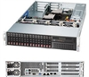 "Supermicro Superserver SYS-2027R-72RFTP+ 2U Dual socket R (LGA 2011) support Intel Xeon processor E5-2600 Intel 82599 Dual port 10G SFP+ and  i350 Dual port GbE 16x Hot-swap 2.5"" SAS/SATA HDD Bays 920W Redundant Power Supplies Full Warranty"
