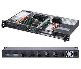 Supermicro 5019A-FTN4 SuperServer, 1U Rackmount, Single socket FCBGA 1310,  Network Security Appliance, Edge Computing Server, Virtualization Server