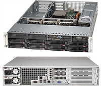 "Supermicro 2U Server Barebone SYS-5027R-WRF Single socket R (LGA 2011) supports Intel Xeon processor E5-2600 Intel C602 Chipset 8x 3.5"" Hot-swap drive bays Intel i350 Dual Port GbE IPMI 2.0 and KVM 500W Redundant Power Supplies Full Warranty"