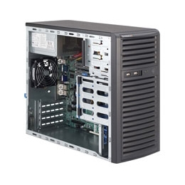 Supermicro Mid-Tower SuperServer  SYS-5037C-i Single socket H2 (LGA 1155) supports Intel Xeon E3-1200 & v2 series Intel 82579LM and 82574L,2x GbE LAN Ports 300W High-efficiency Power Supply Full Warranty