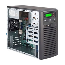 "Supermicro Mid-Tower SuperServer SYS-5038D-I Single socket H3 (LGA 1150) supports Intel Xeon E3-1200 v3 4x 3.5"" tool-less HDD trays + 2x 5.25"" drive bays  300W High-efficiency Power Supply Full Warranty"