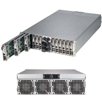 Supermicro SuperServer SYS-5038ML-H24TRF 3U Rackmount Server Barebone System (Black)