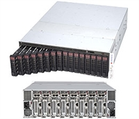 Supermicro SuperServer SYS-5039MS-H8TRF LGA 1151 1600W 3U Server  (Black)