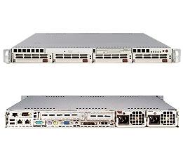 Supermicro 1U Server SYS-6015P-TR Barebone Full Warranty
