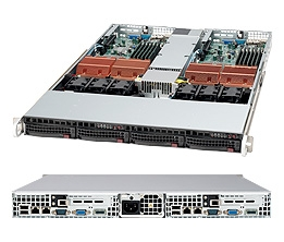 "Supermicro 1U Server SYS-6015TC-TB Barebone 780W Power supply Dual LGA771 2 Hot-swap 3.5'' drive bays LP expansions ATI ES1000 controller with 32 MB Dual Gigabit Ethernet IPMI2.0 Full Warranty <font id = ""special_E3_164T"">Free Ground Shipping</font>"