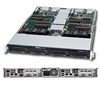 Supermicro 1U  Server SYS-6016TT-IBQF Barebone Dual 1366-pin LGA Sockets Supports up to two Intel 64-bit Xeon processor(s) IPMI 2.0 Intel 82576 Dual-Port GbE  2x Hot-swap SATA Drive Bays 1200W Gold-level High-efficiency Power Supply Full Warranty