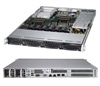 Supermicro SuperServer SYS-6017R-72RFTP Dual LGA2011 Redundant Power SAS/SATA 1U Server Barebone System (Black)