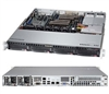 "Supermicro 1U Server SYS-6017R-M7RF Barebone LGA 2011 Dual socket R supports Intel Xeon processor E5-2600 E5-2600 v2 family Intel i210 Dual port GbE IPMI 2.0+ KVM with Dedicated LAN 4x Hot-swap 3.5"" SAS HDD Bays 400W Redundant Power Supplies Full Warranty"