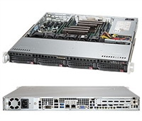 Supermicro SYS-6018R-MT SuperServer (Black) Full Warranty
