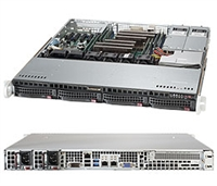Supermicro SYS-6018R-MTR SuperServer (Black) Full Warranty