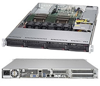 Supermicro SYS-6018R-TDW SuperServer (Black) Full Warranty