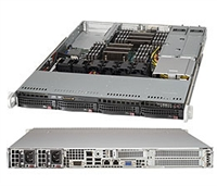 Supermicro SYS-6018R-WTRT SuperServer (Black) Full Warranty