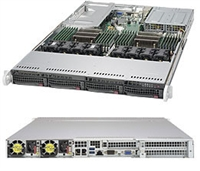 Supermicro SYS-6018U-TR4T+ SuperServer (Black) Full Warranty