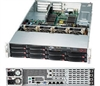 "Supermicro Superserver SYS-6027R-N3RFT+ 2U Dual socket R (LGA 2011) supports  Intel i350 Dual port GbE & Intel X540 Dual port 10GBase-T Controllers 10x Hot-swap 3.5"" SAS/SATA HDD Bays 920W Redundant Power Supplies Full Warranty"