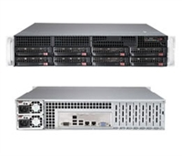 Supermicro SYS-6028R-TR SuperServer (Black) Full Warranty