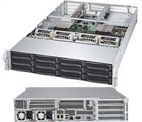 Supermicro SYS-6028U-TR4+ SuperServer (Black) Full Warranty