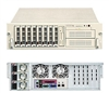 "Supermicro 3U Server SYS-6034H-X8R  Dual 604-pin FC-mPGA4 Sockets Supports up to two Intel 64-bit Xeon processor Intel 82546GB Dual-port GbE Zero Channel RAID 8 x 3.5"" hot-swap Ultra320 SCSI Drive Triple-Redundant 760W power supply with I2C Full Warranty"