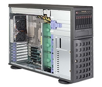 Supermicro SYS-7048R-C1RT SuperServer (Black) Full Warranty