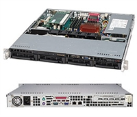 Supermicro 1U server Hot-swap PFC Power Supply Intel Xeon Sandy Bridge 3.1GHz Quad-Core Server Processor 16GB DDR3 ECC Memory 4x1TB 7200RPM SATA 2xGigabit Lan Ports IPMI 2.0 Free Ground Shpping