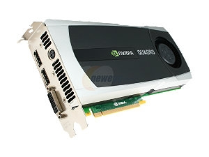 PNY VCQ6000-PB Quadro 6000 6GB 384-bit GDDR5 PCI Express 2.0 x16 Workstation Video Card